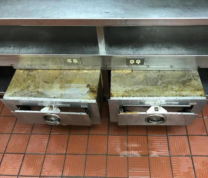 Commercial Kitchen Cleaning in McKinney, TX Before