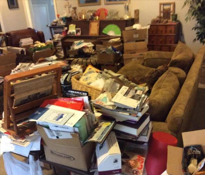 Hoarding Clean-up in Farmersville, TX Before