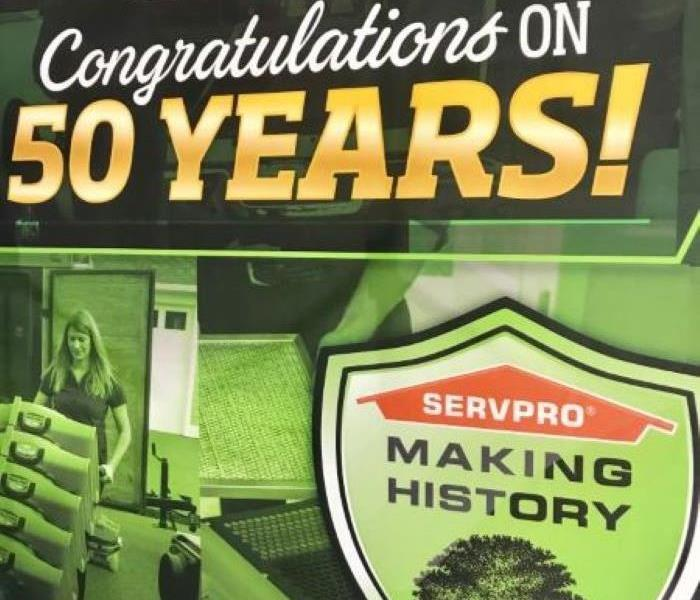 SERVPRO is 50 Years Old