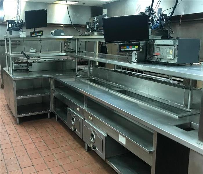 Very clean commercial kitchen job