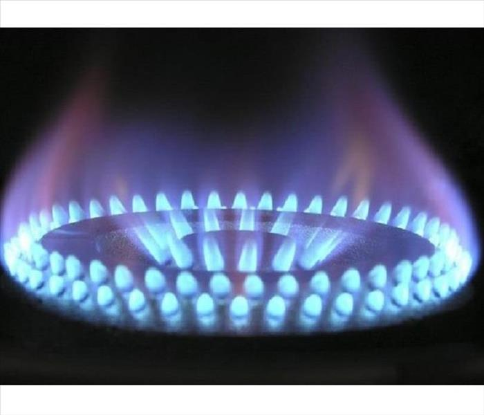 gas burner fire