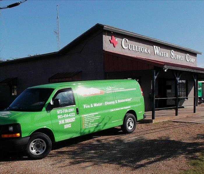 Water Damage SERVPRO Ready To Help Whenever Wherever